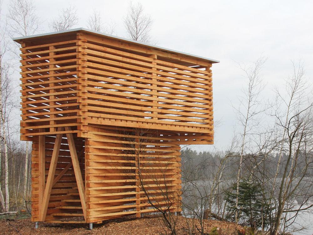 Rückvernässungsprojekte Aussichtsplattform Pfrunger-Burgweiler Ried