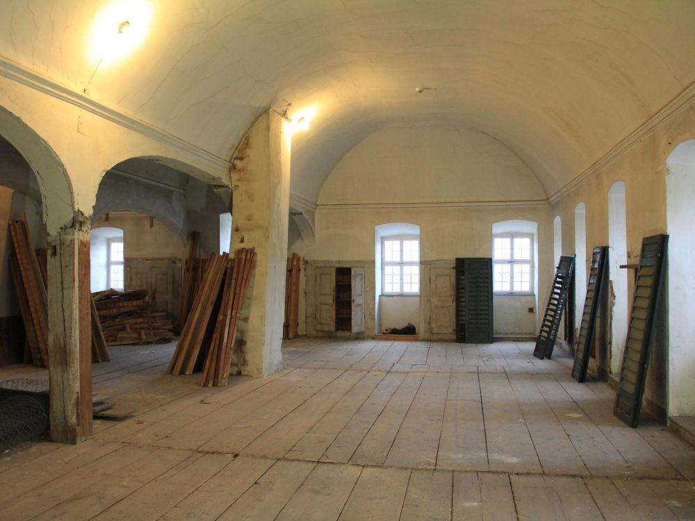 Sanierung innenräume Schloss Salem
