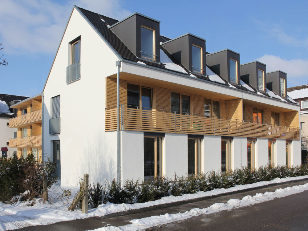 Nullenergiehaus als Klasse 4 Holzbau LPH 1-9