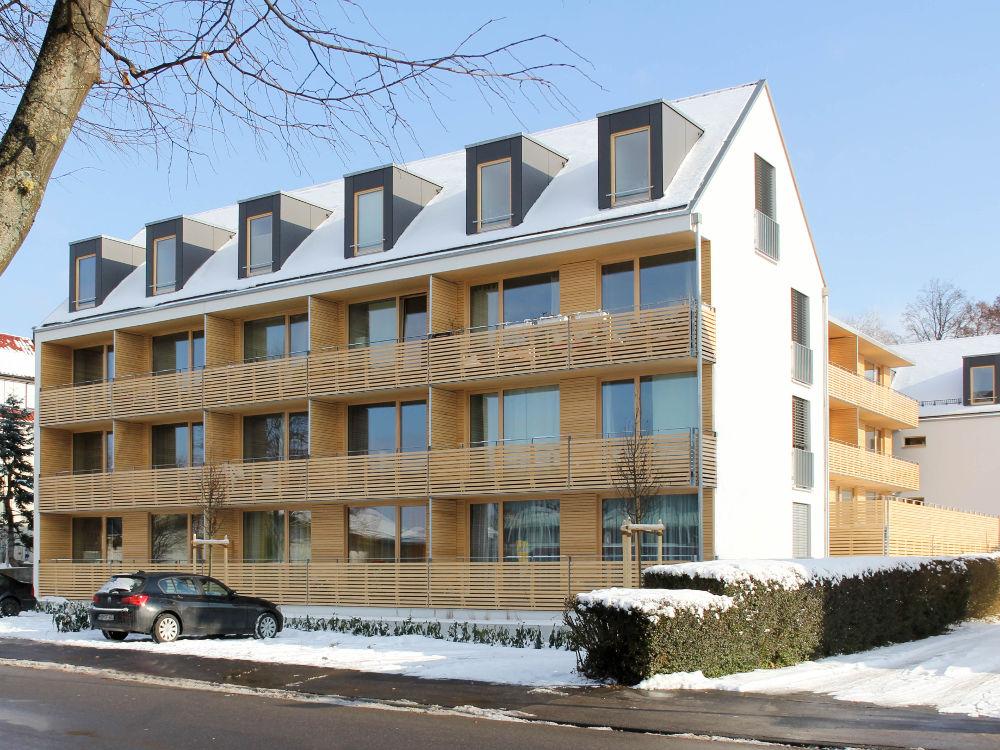 Architekturlokal Nachverdichtung von bestehendem städtischen Wohnraum