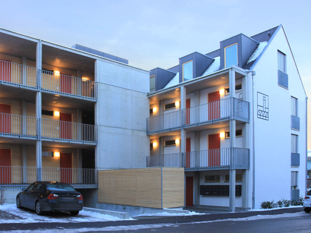 Neubau Wohnprojekt Bau & Sparverein Ravensburg Architekturlokal
