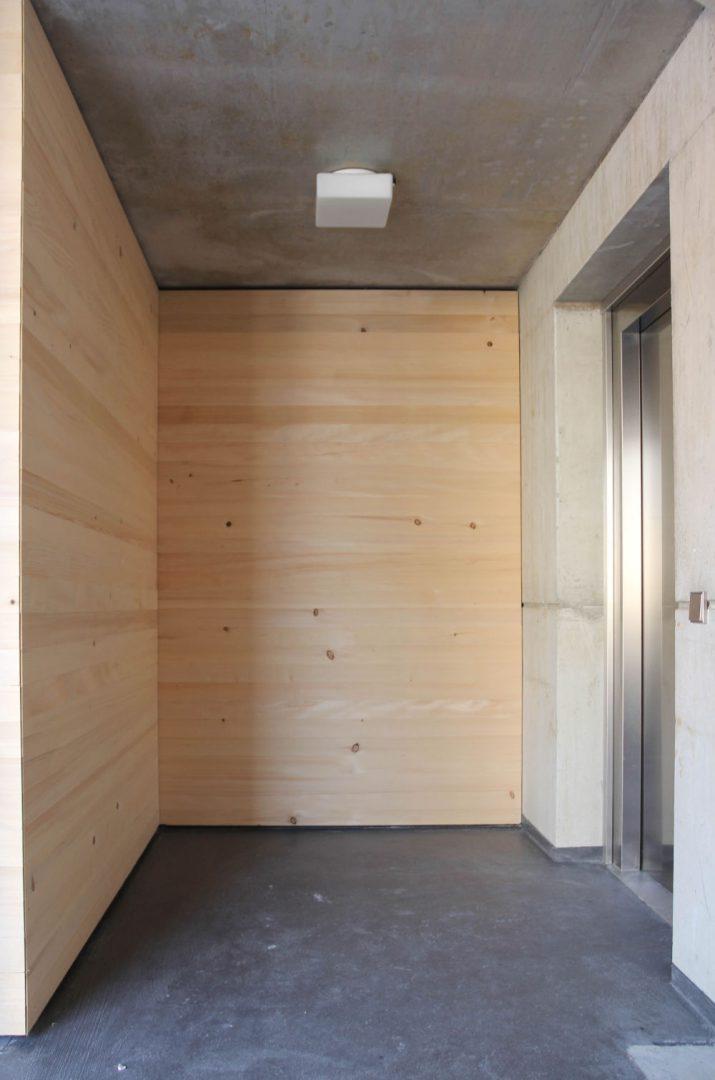 Nachverdichtung von bestehendem städtischen Wohnraum Architekturlokal