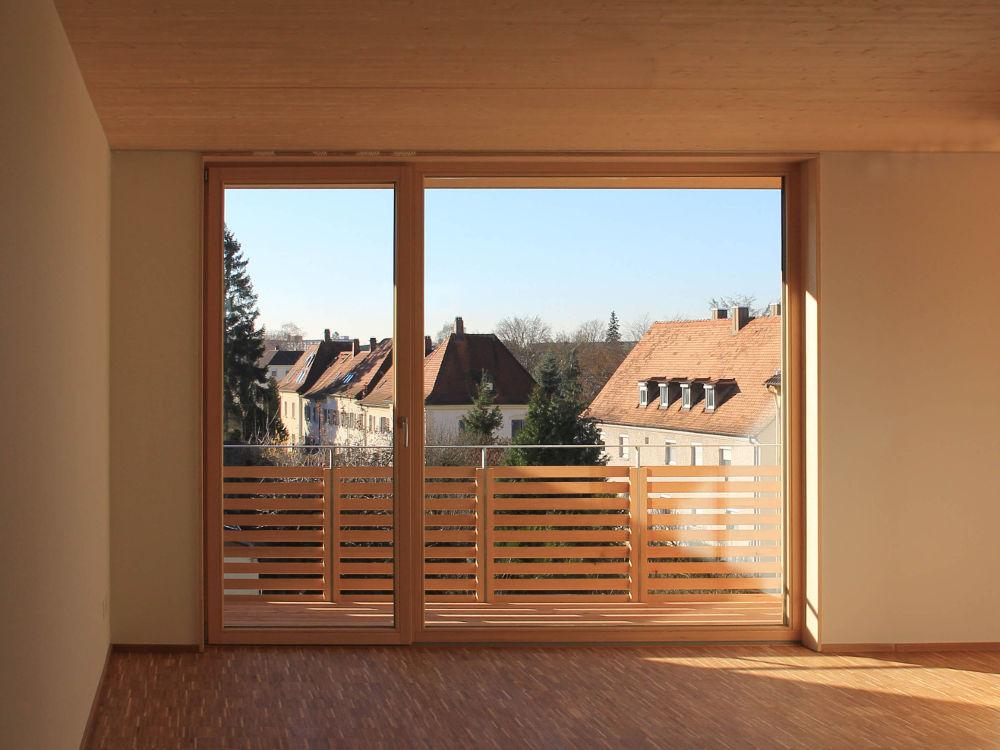 Neubau Wohnanlagen Holz-Hybridbauweise Architekturbüro Architekturlokal