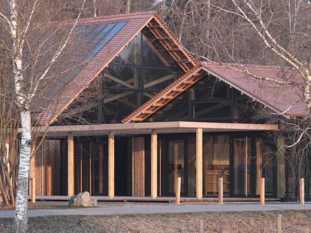 Architektur Neubau Naturschutzzentrum LPH-19