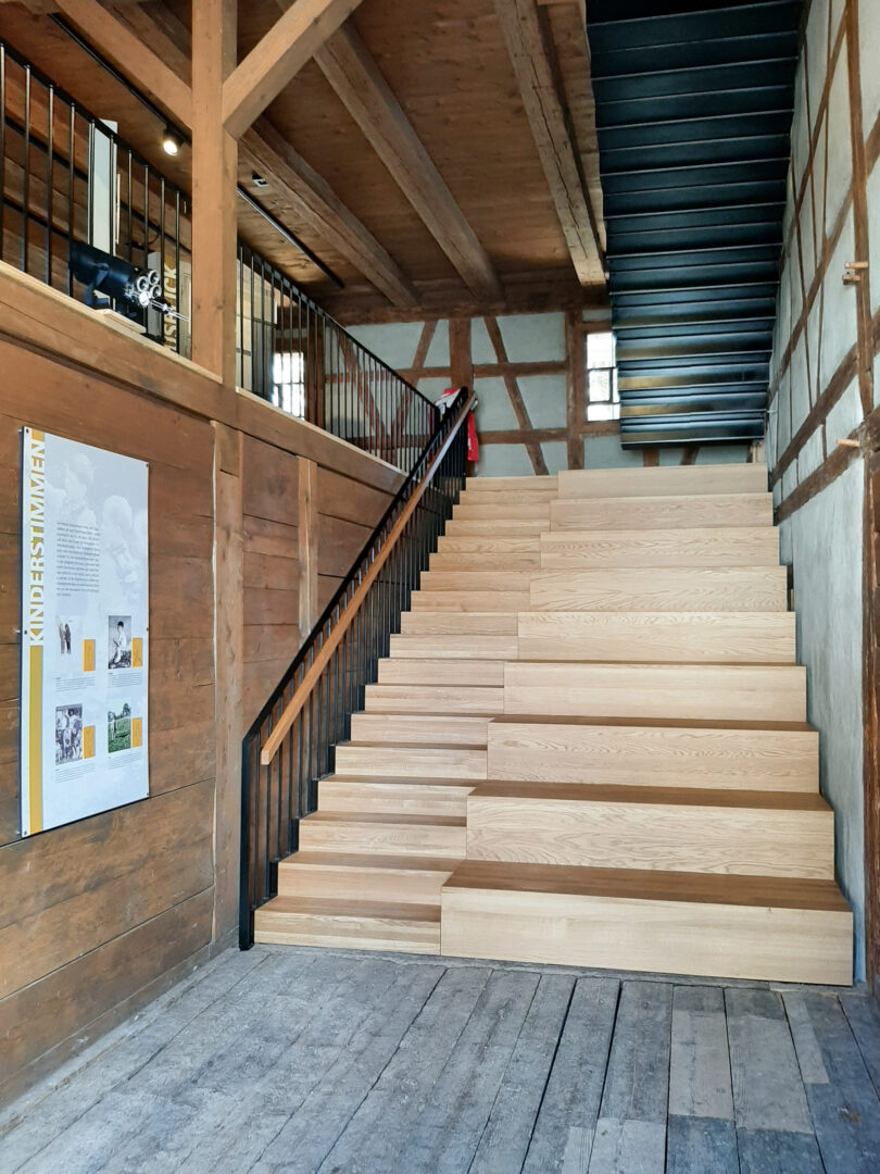 Fischerhaus Sitztreppe